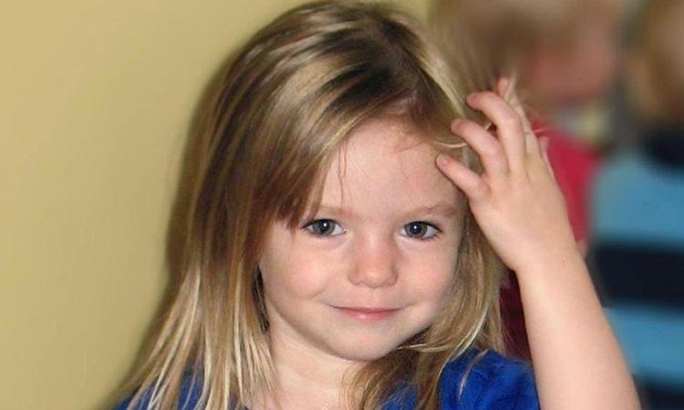 MadeleineMcCann, bé gái biến mất tại Bồ Đào Nha năm 2007. Ảnh: PA.