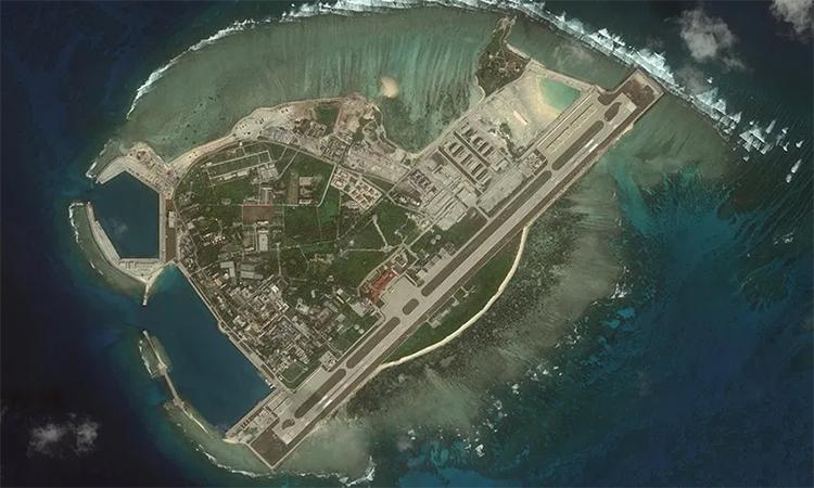 Đảo Phú Lâm thuộc quần đảo Hoàng Sa của Việt Nam. Ảnh: CSIS.