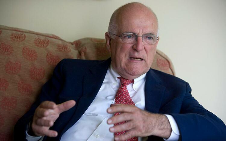 Richard Dearlove, cựu lãnh đạo cơ quan tình báo Anh MI6. Ảnh: Martin Pope.
