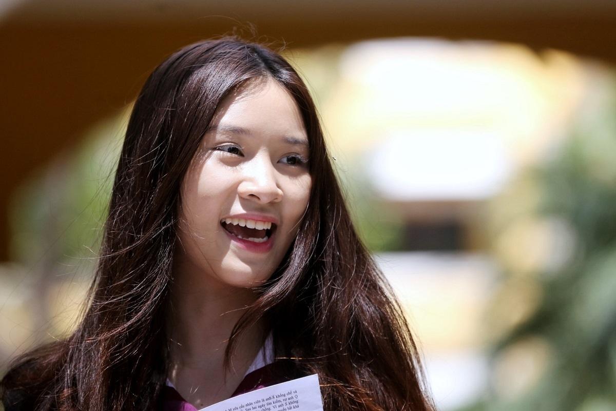 Thí sinh dự thi THPT quốc gia năm 2019 tại TP HCM. Ảnh: Quỳnh Trần.