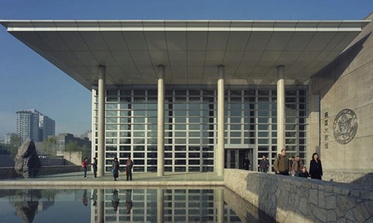 Đại sứ quán Mỹ tại Bắc Kinh. Ảnh:National Museum of American Diplomacy.