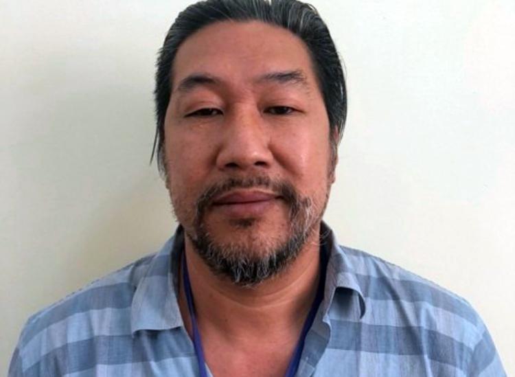Đinh Hồng Hải tại cơ quan điều tra, Ảnh: Bộ Công an