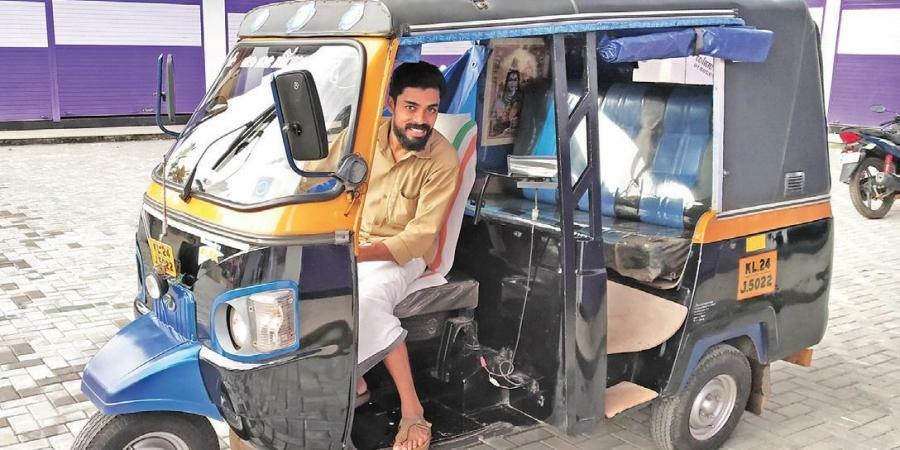 KP Ajith ước mơ trở thành tài xế khi còn nhỏ. Ảnh: KP Ajith.