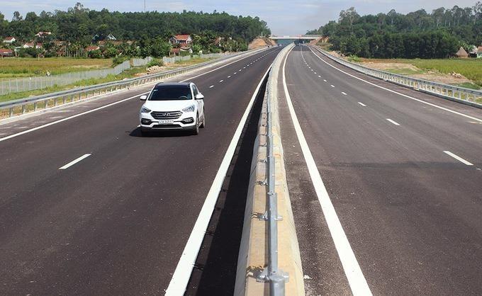 Cao tốc Đà Nẵng - Quảng Ngãi sẽ kết nối với cao tốc Bắc Nam. Ảnh: Đắc Thành.