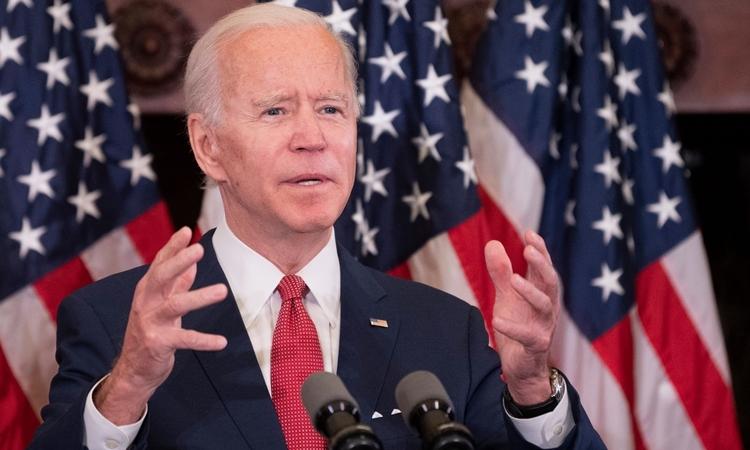 Joe Biden tạiPhiladelphia ngày 2/6. Ảnh: AFP.