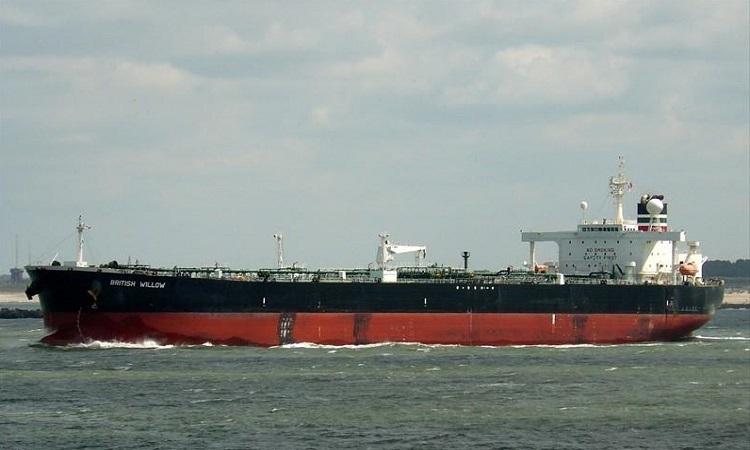 Tàu chở dầu Willowby. Ảnh: Marine.