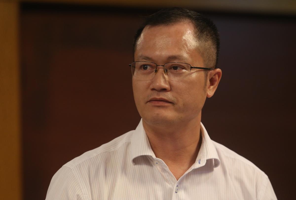 Ông Lê Hoài Nam, Vụ trưởng Quản lý chất lượng môi trường. Ảnh: Gia Chính
