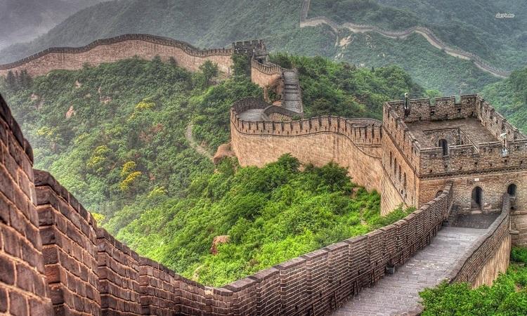 Một đoạn Vạn lý Trường thành ở Bắc Kinh. Ảnh: Wiki.