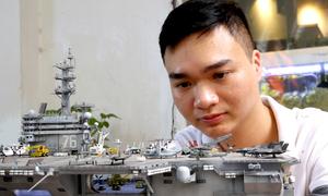 Bộ sưu tập mô hình quân sự nửa tỷ đồng