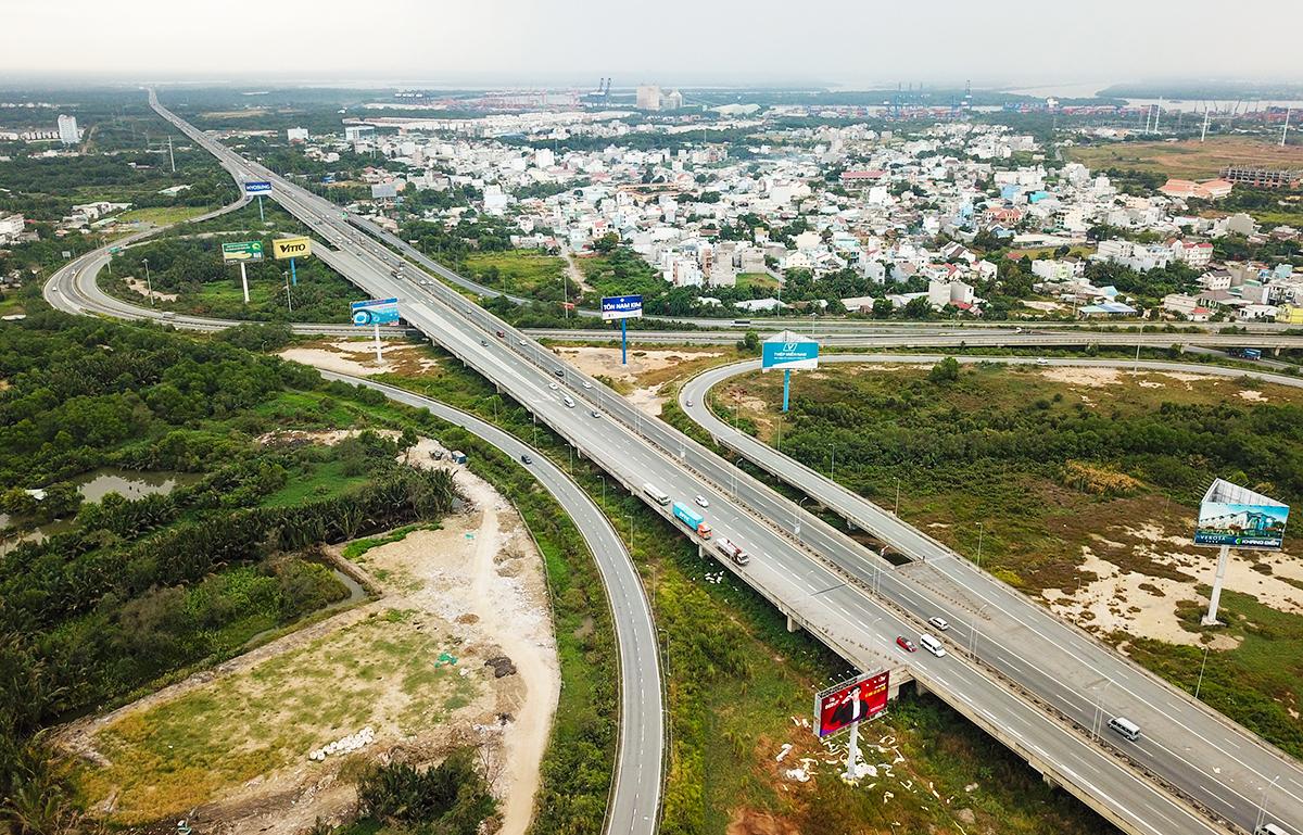 Cao tốc TP HCM - Long Thành - Dầu Giây được thông xe vào tháng 2/2015. Ảnh: Quỳnh Trần