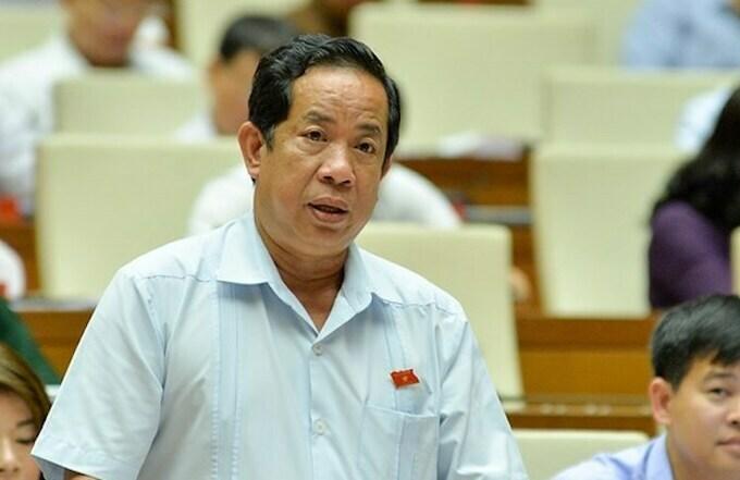 Đại biểu Đặng Thuần Phong. Ảnh:Trung tâm báo chí Quốc hội