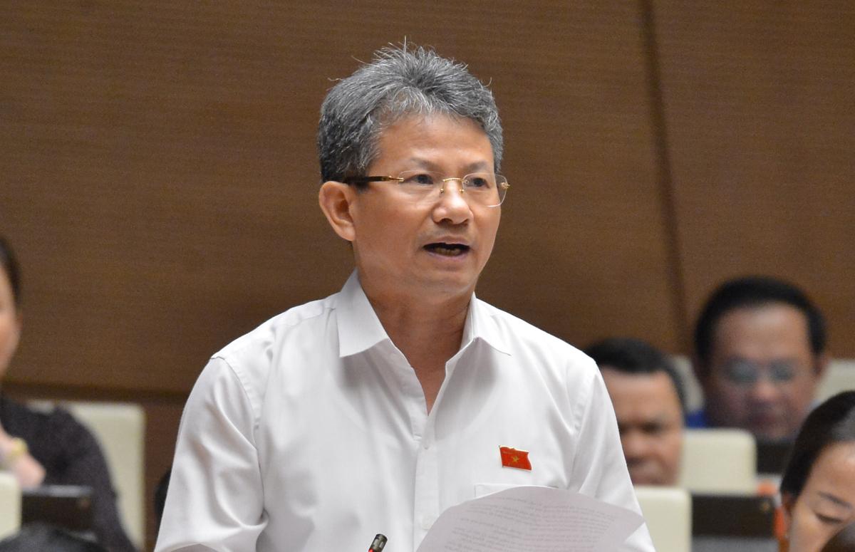 Đại biểu Đỗ Văn Sinh. Ảnh: Hoàng Phong