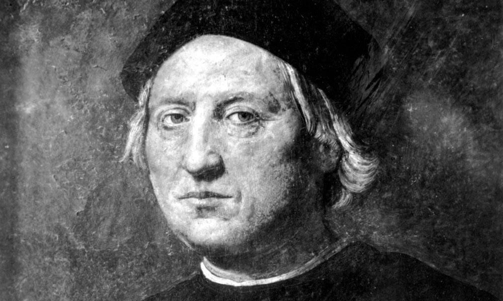 Nhà thám hiểm người Italy Christopher Columbus. Ảnh: AP.