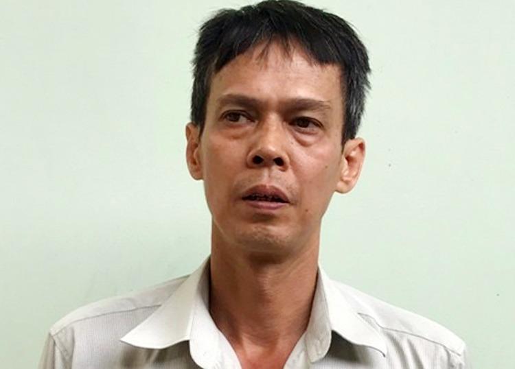 Ông Phạm Chí Dũng lúc bị bắt, tháng 11/2019. Ảnh: Công an cung cấp.