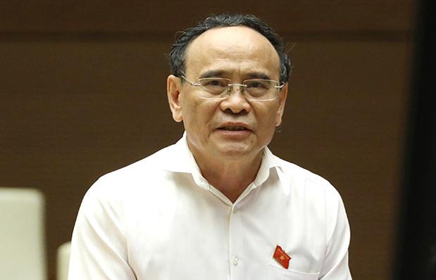 Đại biểu Nguyễn Văn Quyền. Ảnh: Trung tâm báo chí Quốc hội