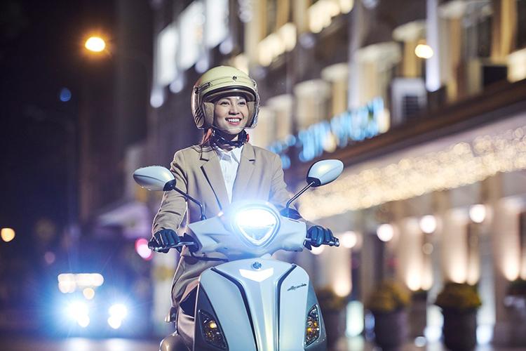 Yamaha Grande là mẫu xe tay ga tiết kiệm nhiên liệu bậc nhất hiện nay.