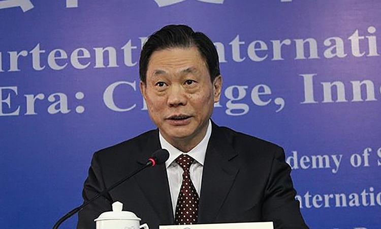 Phó giám đốc Văn phòng Các vấn đề Hong Kong và Macau Đặng Trung Hoa. Ảnh: SCMP.