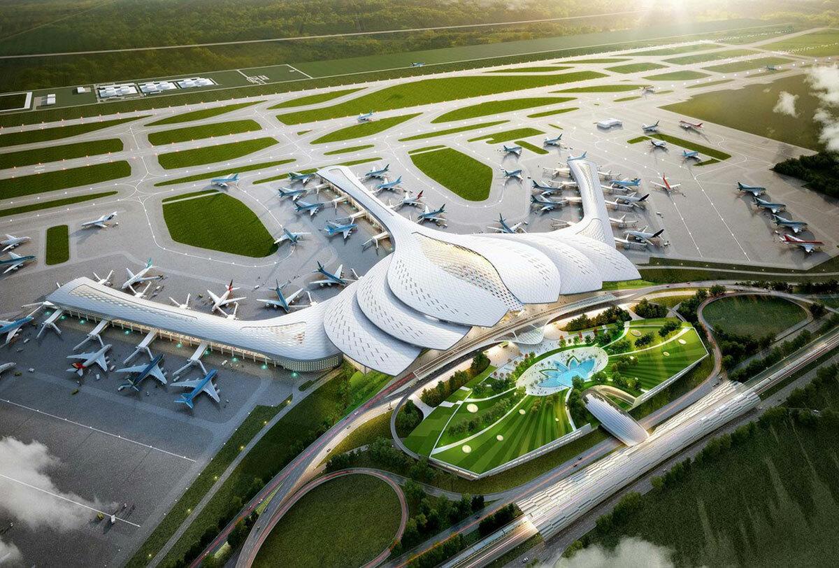 Phối cảnh sân bay Long Thành. Ảnh: ACV.