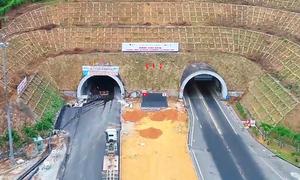 Hầm Hải Vân 2 sắp hoàn thành