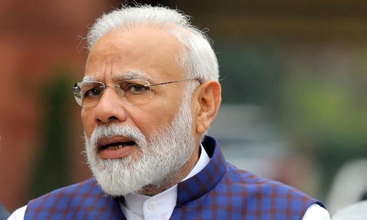 Thủ tướng Ấn Độ Modi tạiNew Delhi tháng 11/2019. Ảnh: Reuters.