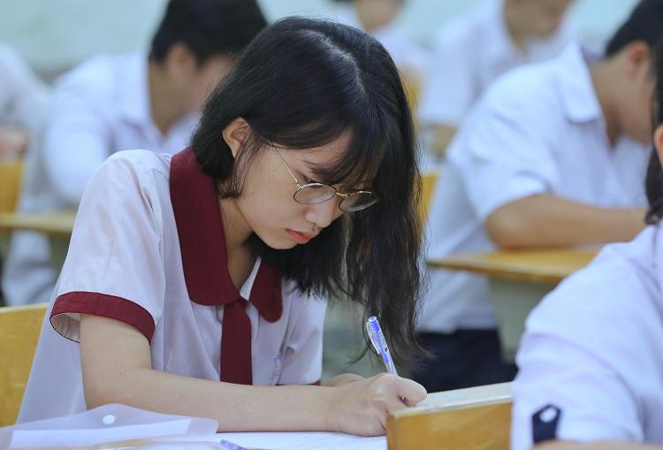 Thí sinh dự thi THPT quốc gia 2019. Ảnh: Thành Nguyễn