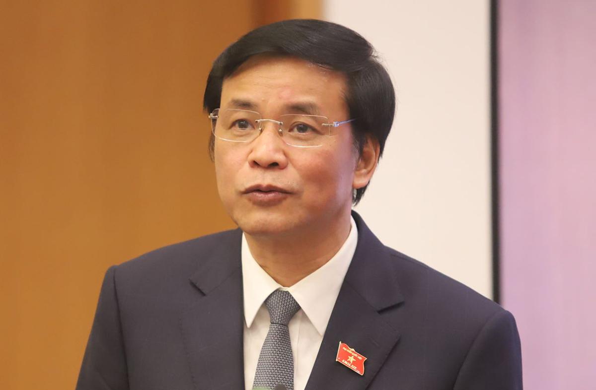 Ông Nguyễn Hạnh Phúc, Tổng thư ký Quốc hội. Ảnh: Trần Thường