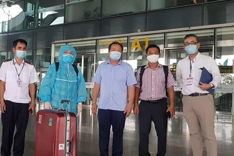 Chuyên gia Nhật Bản đến Việt Nam vào đầu tháng 6/2020 để thẩm định chất lượng vải thiều. Ảnh: TTXVN.