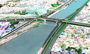 Cầu hơn 2.000 tỷ nối khu Nam Sài Gòn