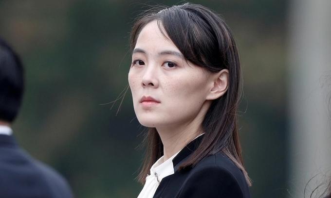 Kim Yo-jong tại Hà Nội tháng 3/2019. Ảnh:Reuters.