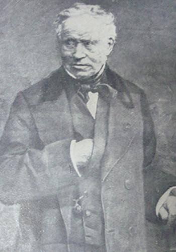 Bác sĩPierre Bretonneau đặt tên cho bệnh bạch hầu năm 1826. Ảnh: History of Vaccines.