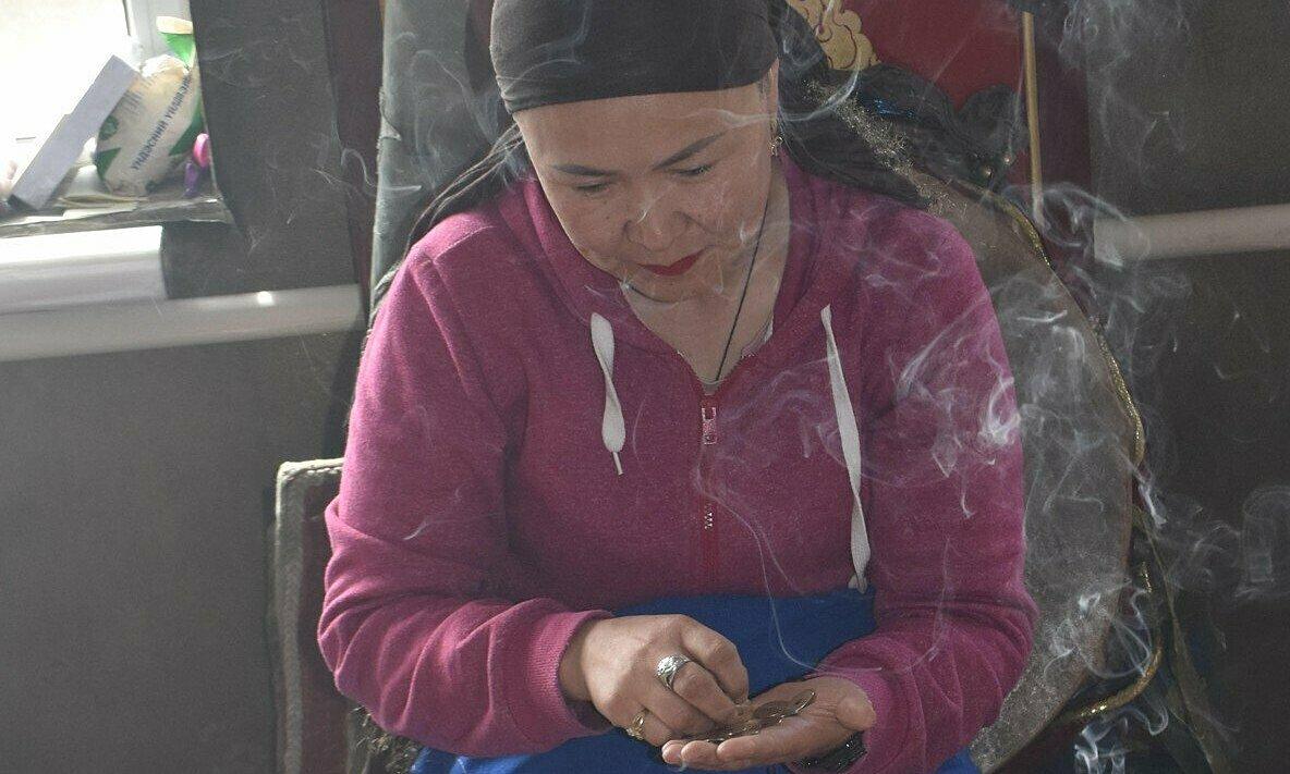 Pháp sư Mông CổEnkh-Ouyn Byambadorj. Ảnh: SCMP.