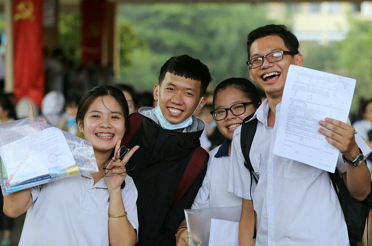 Thi sinh tham dự kỳ thi THPT quốc gia 2019. Ảnh: Quỳnh Trần