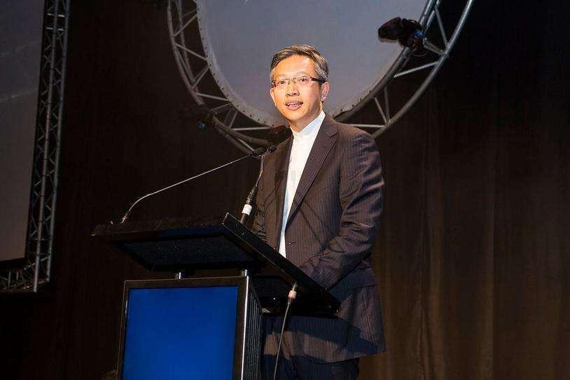 Ông Vương Lỗ Thần tại một sự kiện ở Trung Quốc năm 2017. Ảnh: Sina.