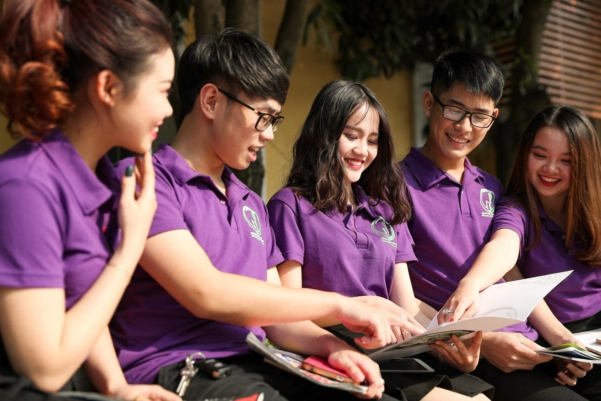 Sinh viên Đại học Quốc gia Hà Nội. Ảnh: VNU.