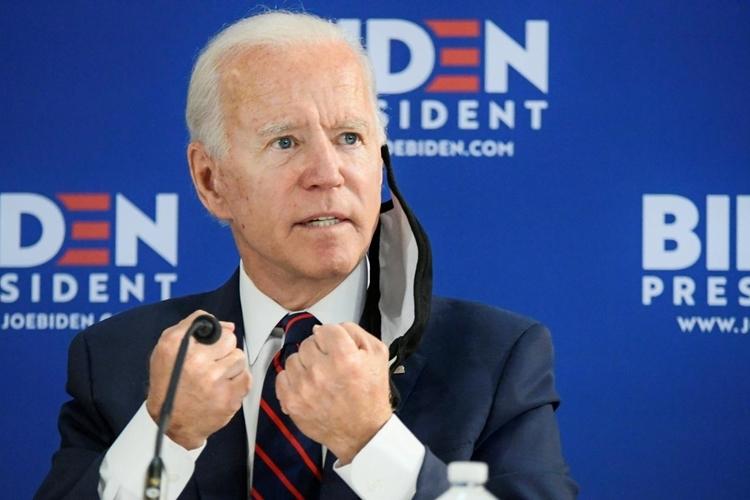 Ứng viên tổng thống đảng Dân chủ Joe Biden phát biểu tại một sự kiện ởPhiladelphia, Pennsylvania, hôm 11/6. Ảnh: Reuters.