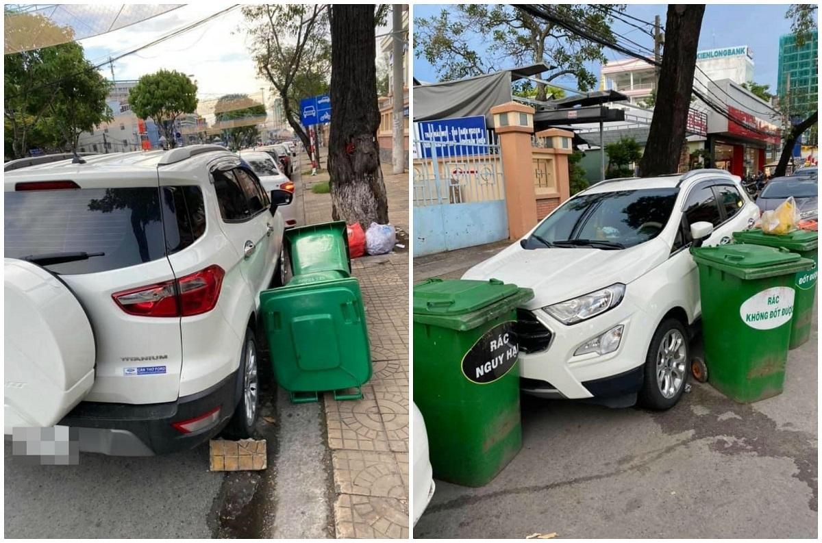 Tài xế trả giá đắt vì đỗ xe không đúng chỗ
