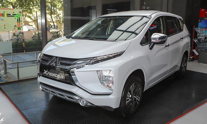 Xpander, mẫu xe bán chạy nhất của Mitsubishi khu vực Đông Nam Á, tại một đại lý ở Hà Nội. Ảnh: Lương Dũng
