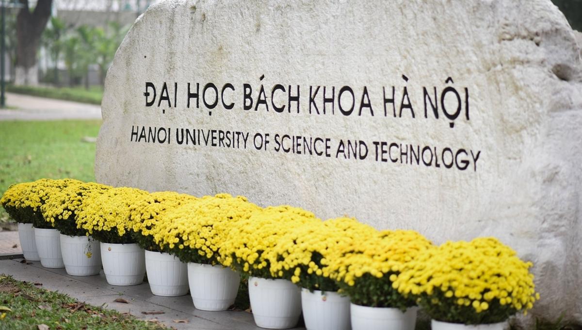 Một góc Đại học Bách khoa Hà Nội. Ảnh: HUST