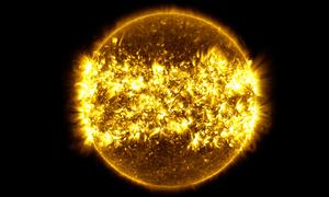 425 triệu bức ảnh Mặt Trời được nén trong một phút