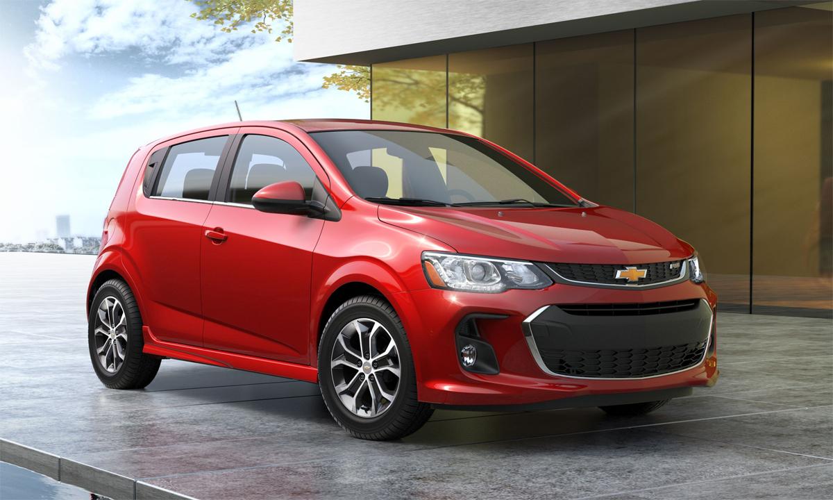 Sonic là xe chất lượng nhất theo xếp hạng năm nay. Ảnh: Chevrolet