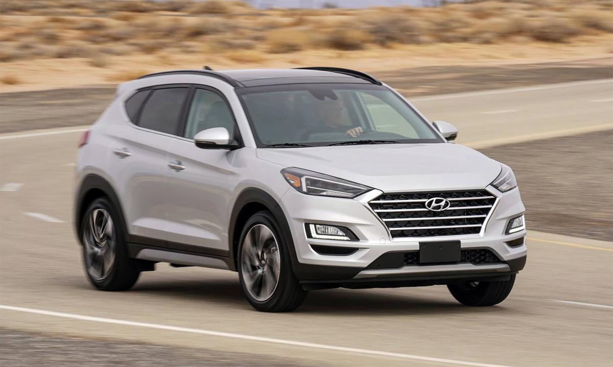 Hyundai Tucson - xe chất lượng nhất phân khúc crossover. Ảnh: Hyundai