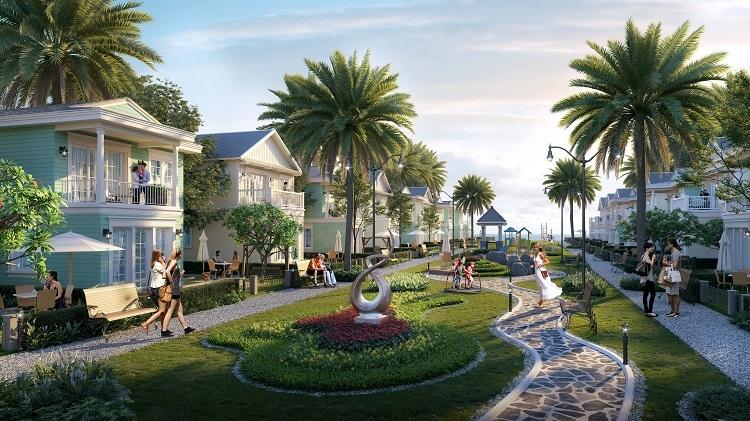 Phối cảnh dự án Novaword Hồ Tràm, Phan Thiết.