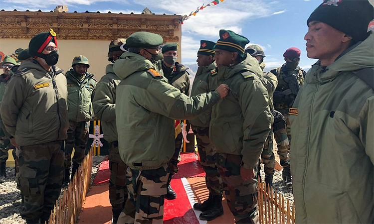 Tư lệnh lục quân Ấn Độ, đại tướng Manoj Mukund Naravane