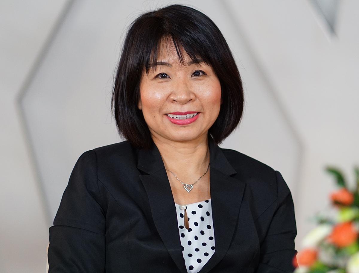 bà Võ Thị Tuyết Phương - Giám đốc Nhân sự Caravelle Saigon Hotel