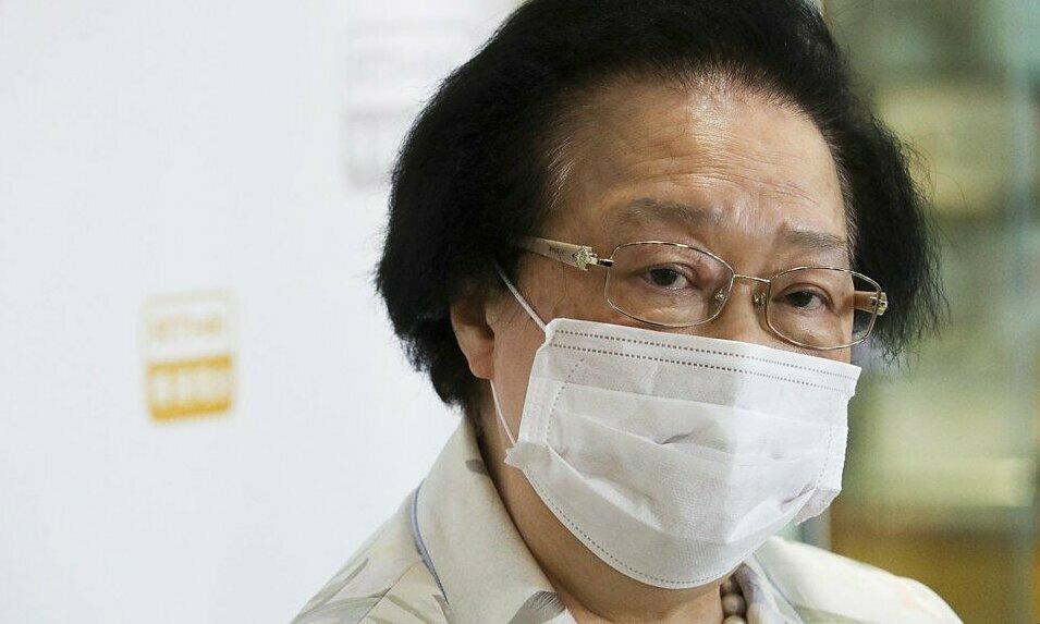 Maria Tam, cố vấn luật Hong Kong tại quốc hội Trung Quốc. Ảnh: SCMP.