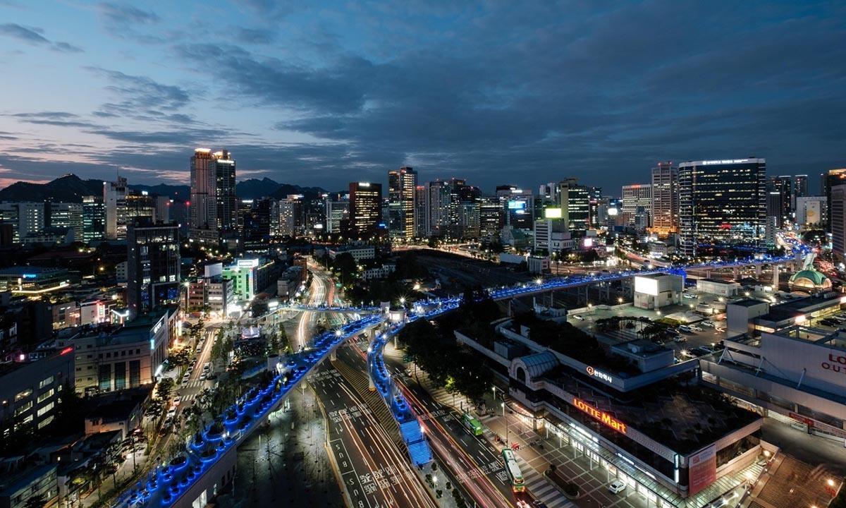 Thủ đô Seoul của Hàn Quốc. Ảnh: SCMP.