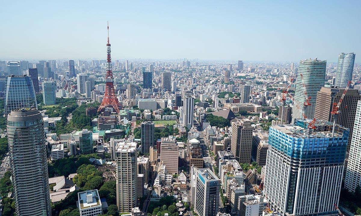 Khung cảnh thủ đô Tokyo, Nhật Bản, hồi tháng 8/2018. Ảnh: Reuters.