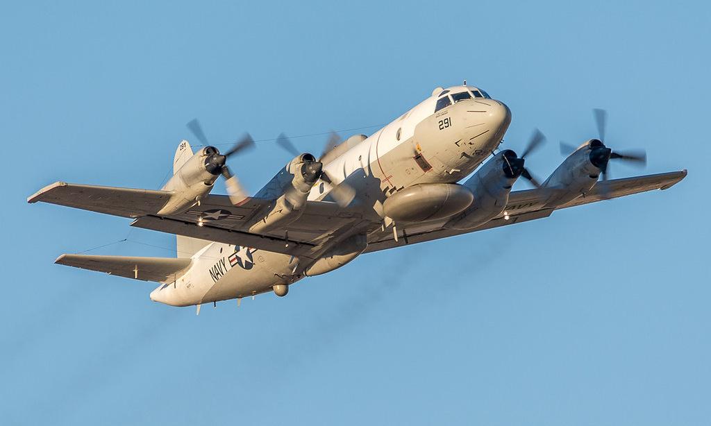 Trinh sát cơ EP-3E của hải quân Mỹ. Ảnh: US Navy.
