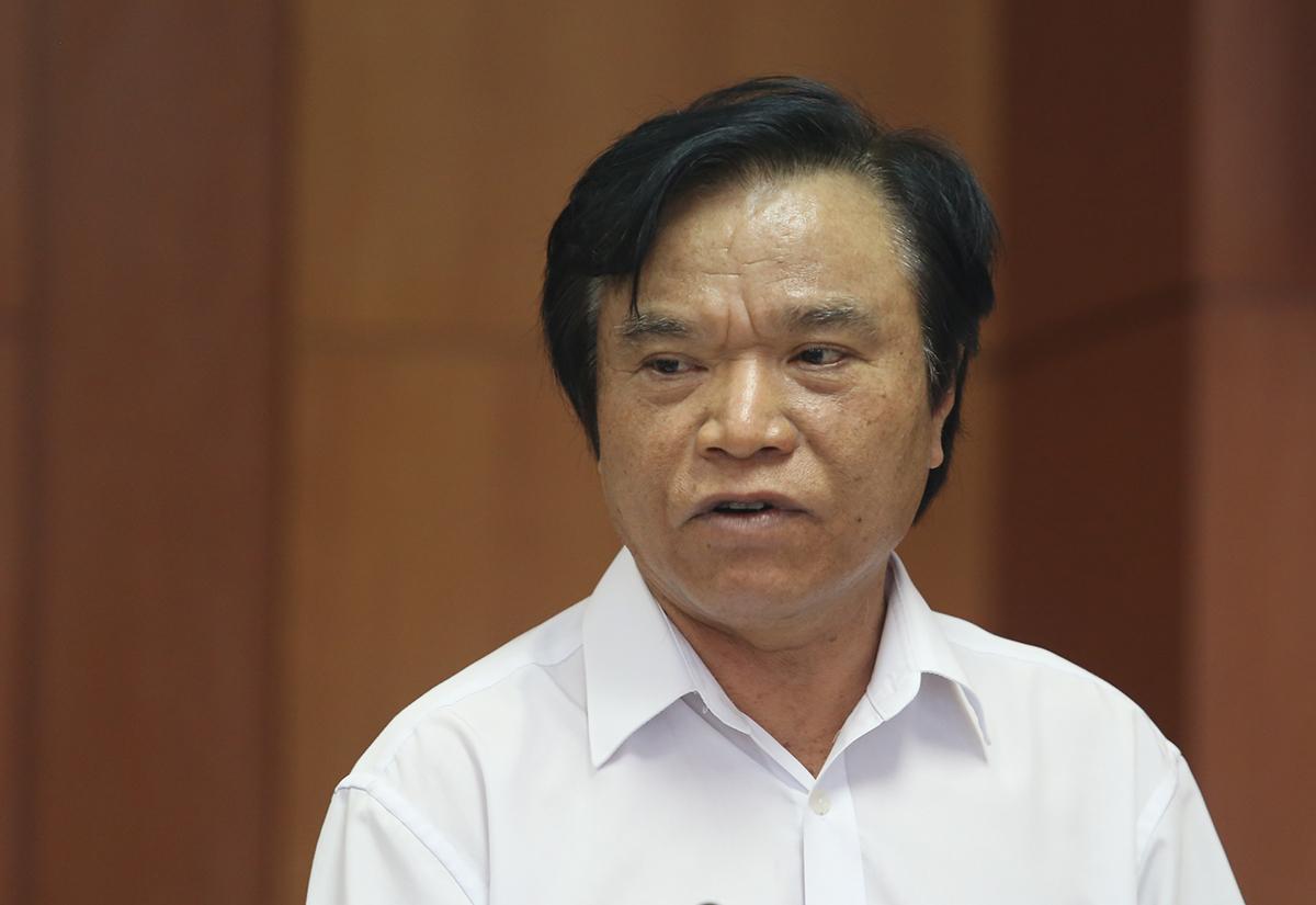 Ông Phan Văn Chín, Tỉnh ủy viên, Giám đốc Sở Tài chính Quảng Nam. Ảnh: Đắc Thành.