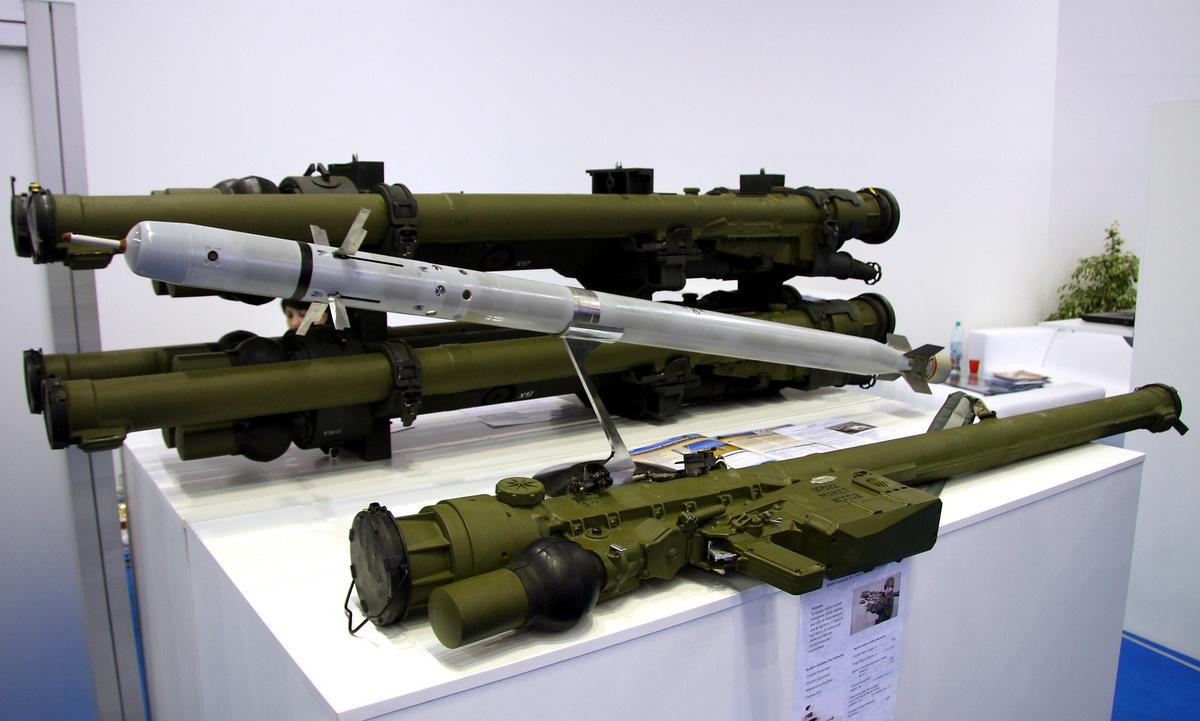 Tên lửa Igla-S được Nga trưng bày hồi năm 2018. Ảnh: Vitaly Kuzmin.